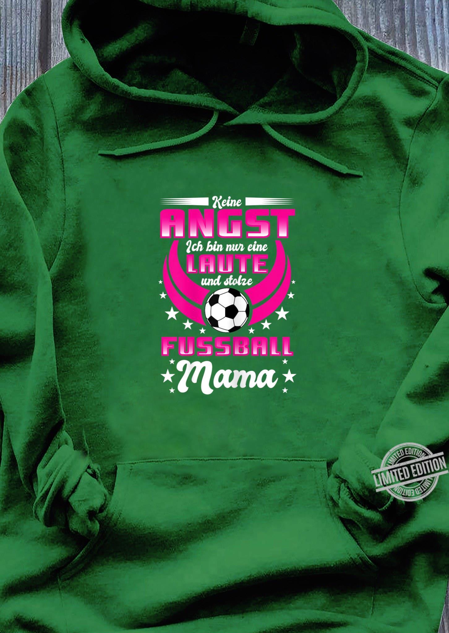 Print-Pulli Comedy Shirts Langarm Kapuze Damen Hoodie K/ängurutasche Stolze Labbi Mama